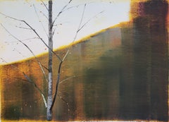 Landscape Painting on Paper by Contemporary Artist Stephen Pentak