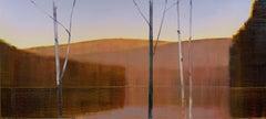 "Stephen Pentak ""2020, XI.I"" - Landscape oil on panel"