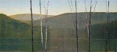 """Stephen Pentak """"2020, XI.II"""" - Landscape oil painting on panel"""