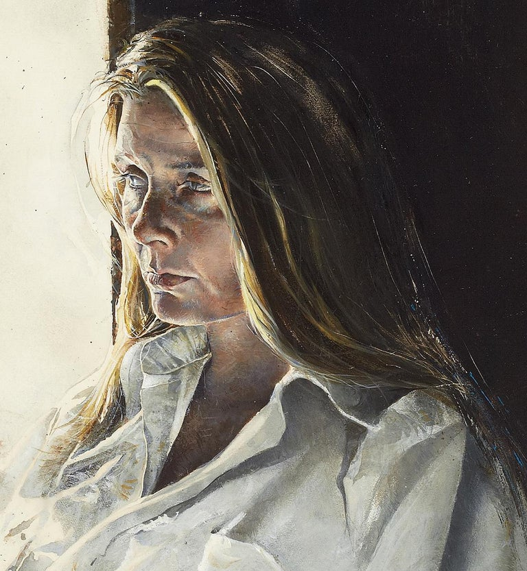 The Captain's Lady - Painting by Stephen Scott Young