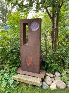 Steel Abstract Sculptures