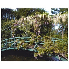 Color Photo Monet's Gardens, Giverny, Japanese Bridge Waterlillies Stephen Shore