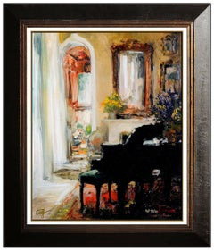Stephen Shortridge Giclee on Canvas Signed Actor Music Summer Breeze