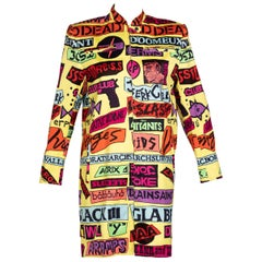 Stephen Sprouse Rock Sticker Jacket , 1980s