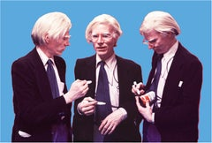 Andy Warhol, The Signing (Blue)
