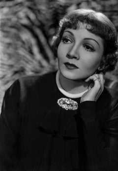 Claudette Colbert Deep in Thought Movie Star News Fine Art Print
