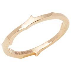 Stephen Webster 18 Karat Rose Gold Thorn Ring
