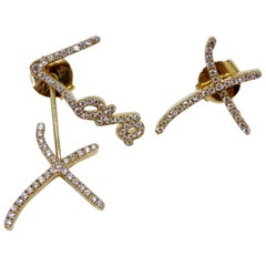 "Stephen Webster ""I Promise To Love You"" Diamond Earrings"