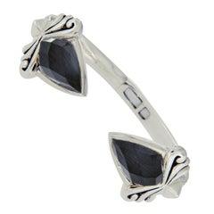 Stephen Webster 925 Silver Cat's Eye Quartz Haze Superstud Bracelet