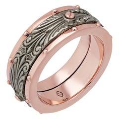 Stephen Webster 925 Sterling Silver London Calling Spinner Ring