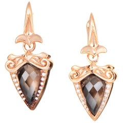 Stephen Webster Baroque Superstud Gold Plated Silver Diamond & Gemstone Earrings