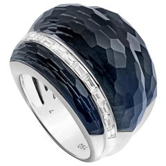 Stephen Webster CH₂ Falcon's Eye Crystal Haze and White Diamonds Cocktail Ring