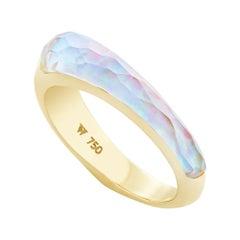 Stephen Webster CH₂ White Opalescent Crystal Haze Slimline Shard Stack Ring