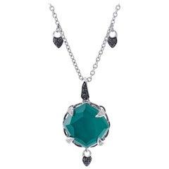 Stephen Webster Green Crystal Haze Necklace