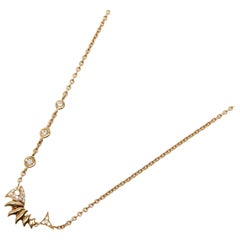 Stephen Webster Jewels Verne 18 Carat Yellow Gold Diamond Necklace
