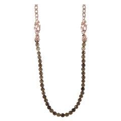 Stephen Webster Pop Superstud Rose Gold-Plated Silver and Quartz Beaded Necklace