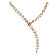 Stephen Webster Russian Roulette Mother of Pearl and Diamond Magazine Necklace