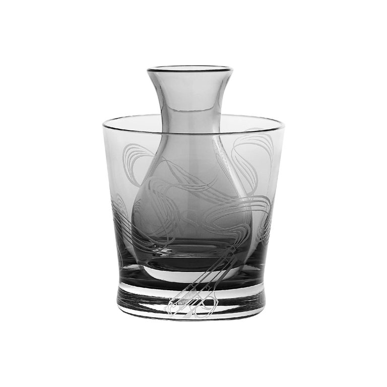 Stephen Webster Russian Roulette Smoking Gun Martini Flask and Cooler For Sale