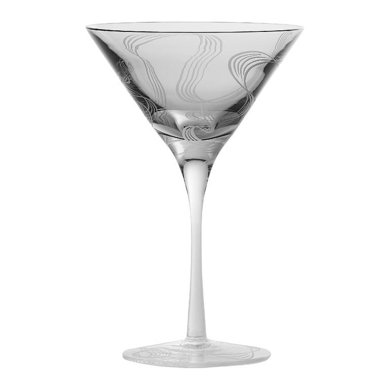 Stephen Webster Russian Roulette Smoking Gun Martini Glass For Sale