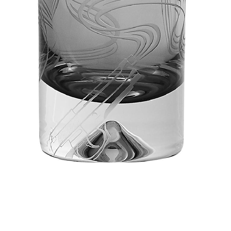 Contemporary Stephen Webster Russian Roulette Smoking Gun Shot Glass For Sale