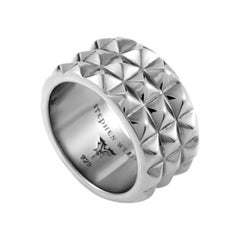 Stephen Webster Superstud Sterling Silver Band Ring