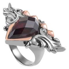 Stephen Webster Superstud Women's Gold-Tone Sterling Silver Quartz Ring