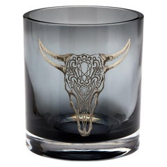 Stephen Webster Tequila Lore Cow Engraved Detail Smoke Colored Ice Bucket