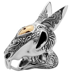 Stephen Webster Tequila Lore Sterling Silver Rabbit Salt Shaker