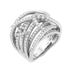 Stephen Webster Thorn 18 Carat Gold and White Diamond '1.82 Carat' Bandeau Ring