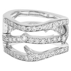 Stephen Webster Thorn 18 Carat White Gold and White Diamond Convertible Ring