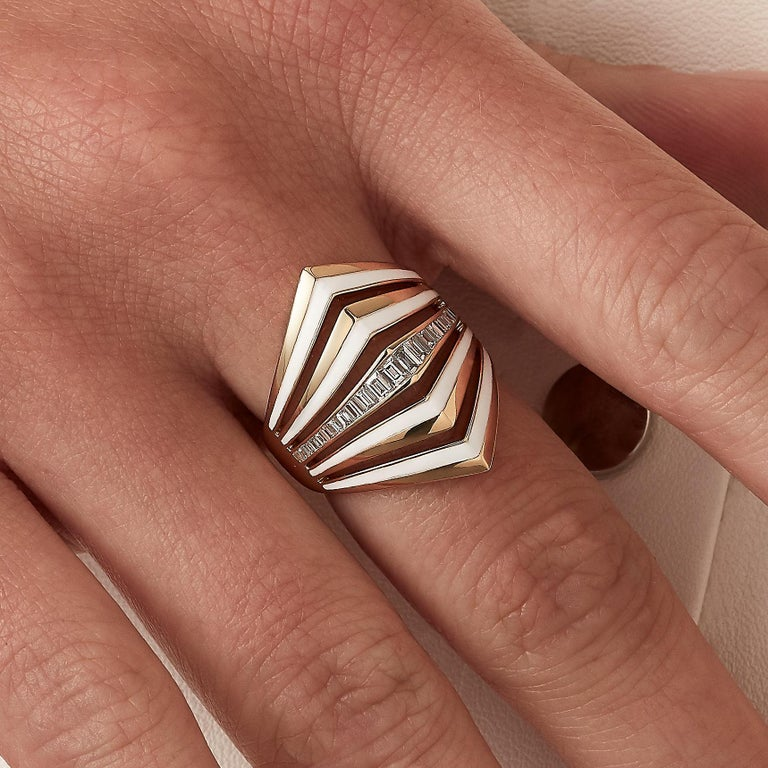 For Sale: undefined Stephen Webster Vertigo Gaining Perspective 18 Carat Gold and Diamond Ring 4