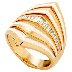 Stephen Webster Vertigo Gaining Perspective 18 Karat Gold and Diamond Ring