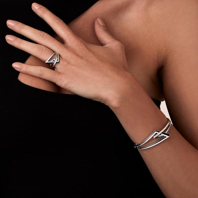 For Sale: undefined Stephen Webster Vertigo Obtuse 18 Carat Gold and White Diamond '0.35 Carat' Ring 3