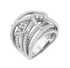 Stephen Webster Thorn 18 Karat Gold and White Diamond (1.82ct) Bandeau Ring