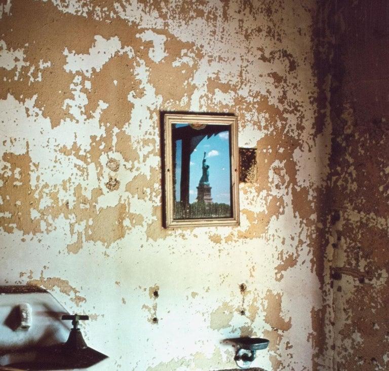 """TB Ward, Statue of Liberty, Ellis Island"" Cibachrome Print by Stephen Wilkes For Sale 4"