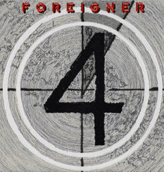 4, Foreigner, Embroidery Assemblage