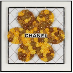 Chanel Flower Flower (Gold), Embroidery Assemblage