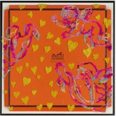 Hermes Cherubim (Pink), Embroidery Assemblage