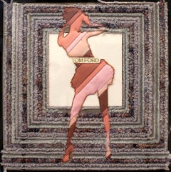 Tom Ford Dancer, Embroidery Assemblage