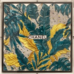 Tropical Teal Embroidery Assemblage