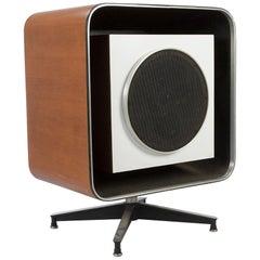 Stephens Trusonic Quadreflex Square Eames Speaker Enclosure Unit