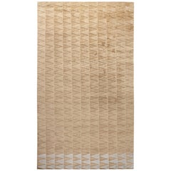 Steppe Rug in Cream and Ivory