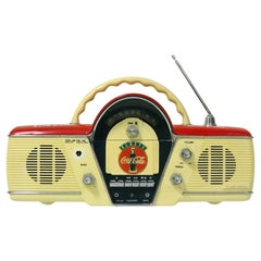 "Stereo Radio Cassette Enjoy Coca, Cola, ""1980"""