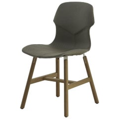 Stereo Set of 2 Gray Chairs by Luca Nichetto