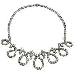 Sterlé Diamond Necklace
