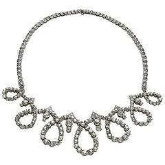Sterlé Diamond Necklace