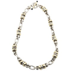 Sterling and Gold-Plated Necklace