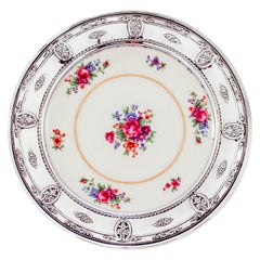 Sterling and Porcelain Dish