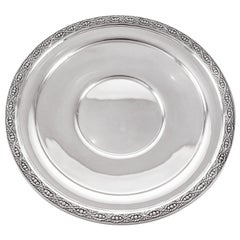 Sterling Art Deco Dish