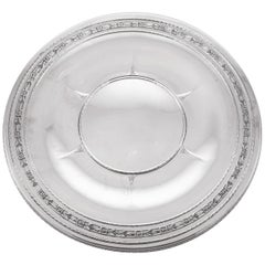 Sterling Art Deco Tray